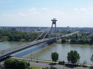China Concrete Deck Steel Cable Suspension Bridge prefabWith Rock Anchors on sale