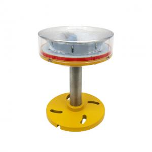 China Mast Pole single omnidirectional Fixed 32cd red low intensity obstruction light for 230v on sale