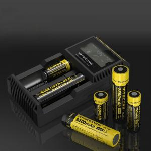 China Nitecore D2 2 slot Charger with LCD Display Universal Smart Charger For 18650 Batteries IMR/ Li-ion/ LiFePO4/ Ni-MH/ Ni- on sale
