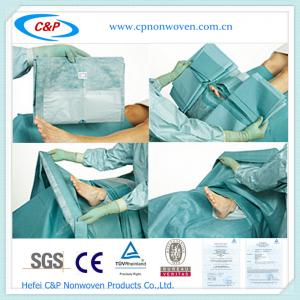 Quality Disposable Foot Drape Sheet for sale