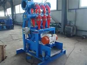China Good quality 10 hydraulic cones ZQJ series Drilling Mud Desilter size 40 -160  on sale