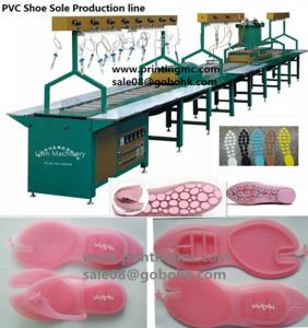 China One-Piece Sandal Making Production Line Full Automatic and Semi Automatic on sale