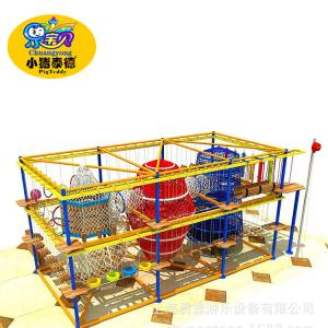 China Custom Rope Playground Equipment Indoor Children Play Area For Square on sale