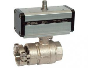 China Full Bore Ball Valve with Quick Coupling for Zootechnical Use on sale