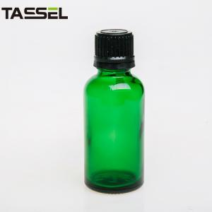 China 30Ml Green 18 410 Glass Eye Dropper Bottles Essential Oil Glass Dropper on sale