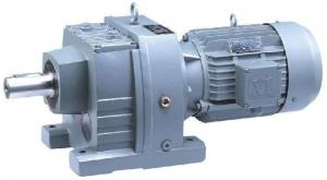 China Cast Iron Motor Gear Reducer High Strength 1400 Input Speed Helical Gearing Arrang on sale