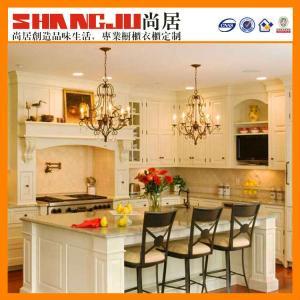 China good design Kitchen cabinet manufacturer many colors on sale