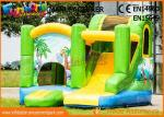 0.55mm Vinyl Commercial Bouncy Castles / Inflatable Bounce House For Toddler