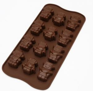 China Professional Sweet Flexible Silicone Chocolate Molds For Chocolate Making on sale