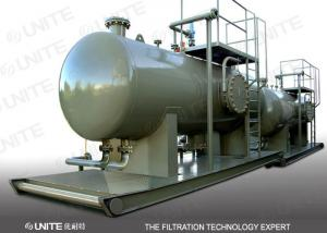 China ASME Solid Gas filter separator / natural gas filter separator for solid removing on sale