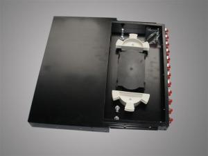China 24 Core Rack Mounting Fiber Optic Terminal Box For FTTB / FC / SC on sale