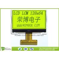 STN Yellow / Green Positive Lcd Display Module 0.515 X 0.475 Dot Pitch