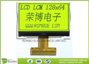 China STN Yellow / Green Positive Lcd Display Module 0.515 X 0.475 Dot Pitch on sale