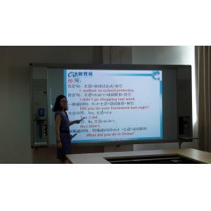 China placas espertas de 4M na sala de aula para a aprendizagem feliz com o microfone do rádio 2.4G on sale