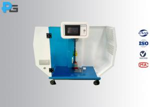 China Digital Charpy Impact Test Equipment 50° Angle ISO179 With LCD Touch Screen on sale