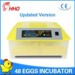 China 2016 hot sale CE approved full automatic mini egg incubator 48 chicken eggs YZ8-48 for sale wholesale