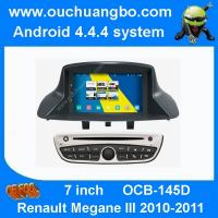 Ouchuangbo S160 Renault Megane III 2010-2011 audio dvd radio android 1080P android 4.4 BT