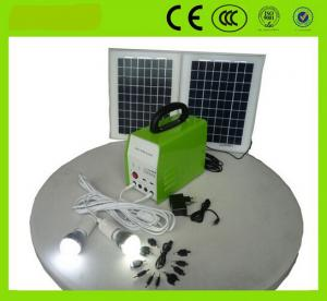China portable solar generator solar energy system for home lighting, TV, Fans, mobile charger on sale