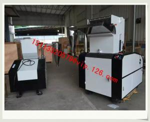 China 800-1000kg/hr Crushing capacity Non-Noise Crusher/Compact Sound-proof Granulator Price List on sale