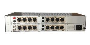 China Broadcasting AES/EBU Digital Audio Fiber Optic Extender over single fiber cable on sale