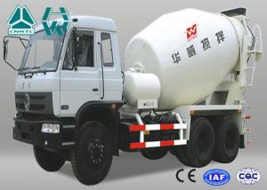 China Sinotruk Hydraulic System Concrete Mixer Truck With Fan Heater Zz1257N3841W on sale