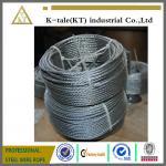 Hgih tension free sample Galvanized steel wire rope