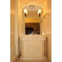 Villa Onyx Stone Wall / Wash Hands Basin , Resistance To Staining