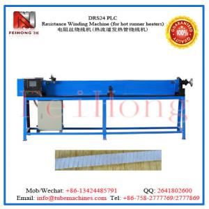 China resistance wire coil winding machine for hot runner heaters plc resistance winding m/c on sale