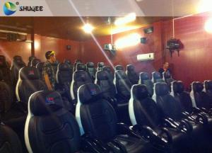 China Integrating Simulating Luxury Cabin Box 5D Cinema System With Fiber Glass Material on sale