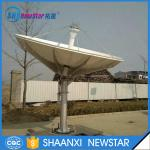 3.7m c/ku band earth station satellite communication antenna