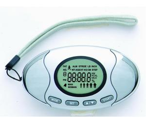 China LCD screen  A-3003 with fat analyzer Pedometer on sale