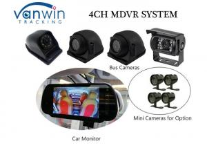China Compact 4-Channel H.264 4G Vehicle Mobile DVR with Built-in GPS on sale