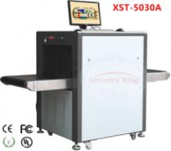 China Low Noise Train Station X Ray Security Scanner , X - Ray Machine For Luggage on sale