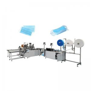 China Fully Automatic Non Woven Mask Making Machine Easy Operate 6700*3700*2000mm on sale