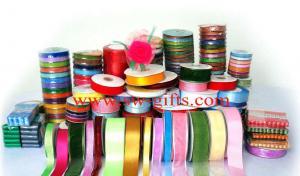 China Polyester Satin Ribbon Nylon Satin Ribbon Webbing tape Cheap White NT Paper Ribbon on sale