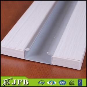 China aluminum kitchen cabinet door profile,anodized silver finish aluminium profile C gola handle on sale