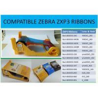 Zebra ZXP3  Ribbon  800033-347 ymcKO half panel 400 cards images color Ribbon made in Korea