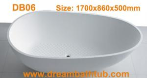 China Artificial stone bathtub on sale