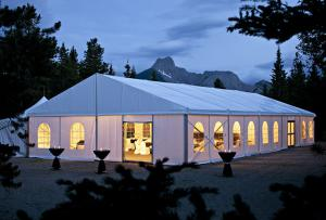 China 25x50M Large Event Tents With Flooring / Wind Resistant Outdoor Party Tents on sale