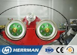 China Three Core Quadruple Copper Wire Bunching Machine 0.8 - 1.7 Mm Core Dia on sale