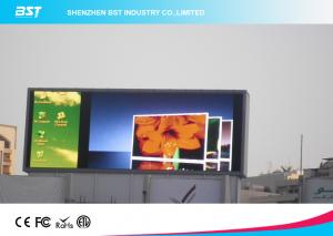 China SMD2727 Large Led video wall Display / outdoor led advertising screens power saving on sale