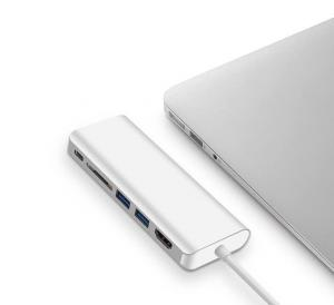 China USB Type C Adapter Hub with USB 3.0 Ports for New MacBook Pro 2016 New MacBook with Type C Plug on sale