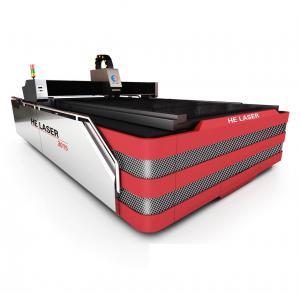 China ACサーボ・システムの運転者繊維レーザーの金属の打抜き機500W HECF3015I-500 on sale