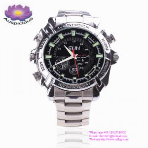China High Quality  Smart HD 1080 Audio Video Digital Wrist Hidden Spy Watch Camera Made In China Factory on sale