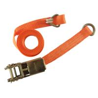 China CE Strap Ratchet Straps 1 Inch 1000KGS Lashing Strap Ratchet Tie-Down Straps with D-ring on sale