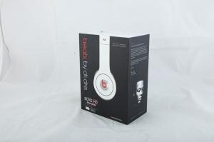 China Beats Solo HD Headphones Mobile Phone Accessory , White Dr.Dre Headphone on sale