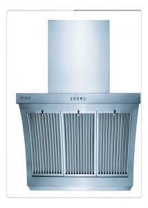 China Capilla del extractor del acero inoxidable del hogar con el filtro del aluminio de 3 capas on sale