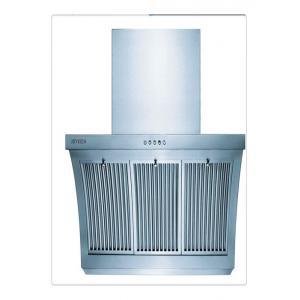 China Capot d'échappement d'acier inoxydable de ménage avec le filtre d'aluminium de 3 couches on sale