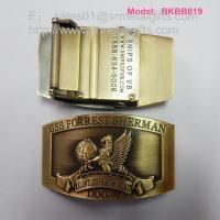 Vintage metal automatic belt buckle, automatic belt buckle factory China