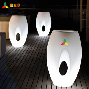 China White Outdoor Lawn And Garden Decor Polyethylene Egg Shape Flower Pot on sale